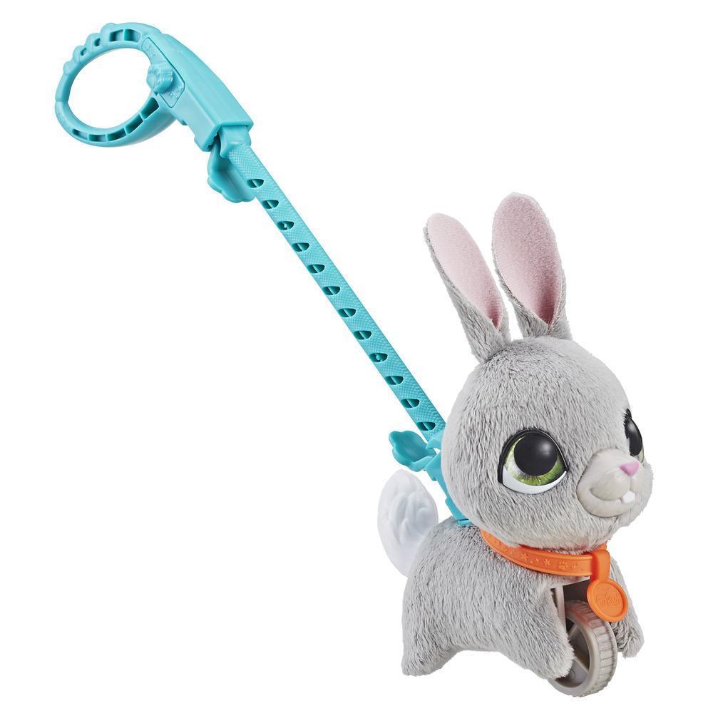 Маленький питомец на поводке FurReal Friends - Кролик