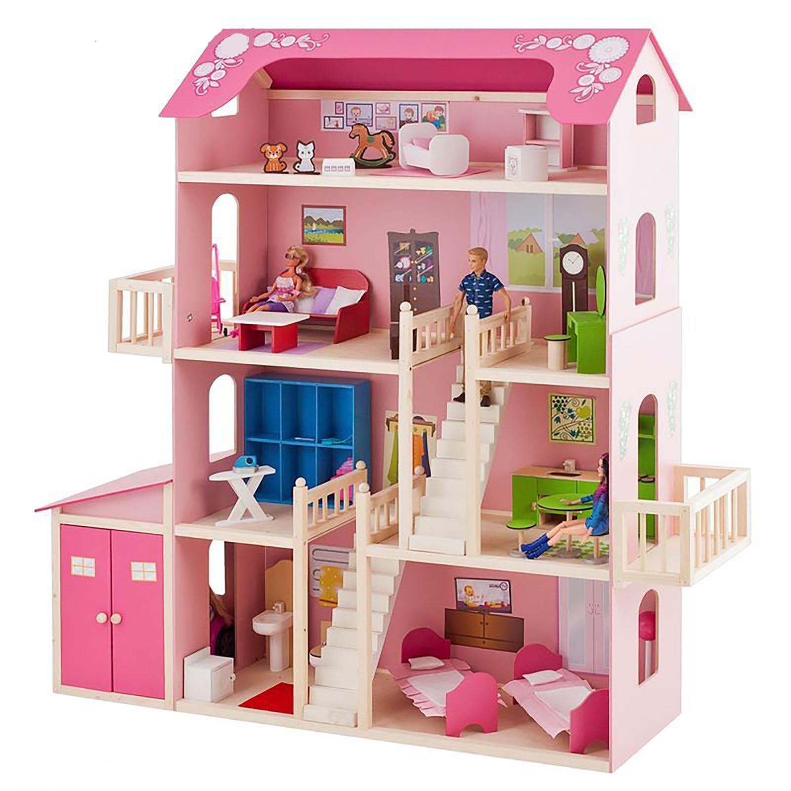 Смотреть картинки кукольные домики
