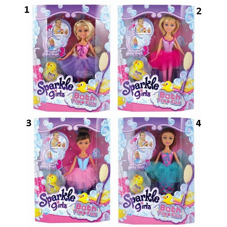 Игровой набор Sparkle Girlz - Bath Time Fun