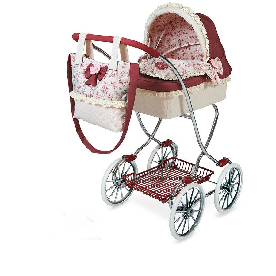 """Классическая коляска для куклы """"Мартина"""" с сумкой, 90 см"""