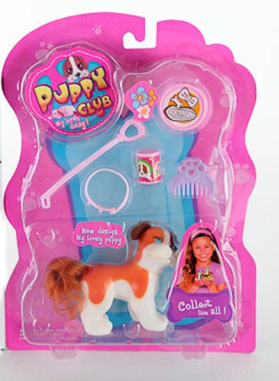 Игровой набор Puppy Club с собачкой