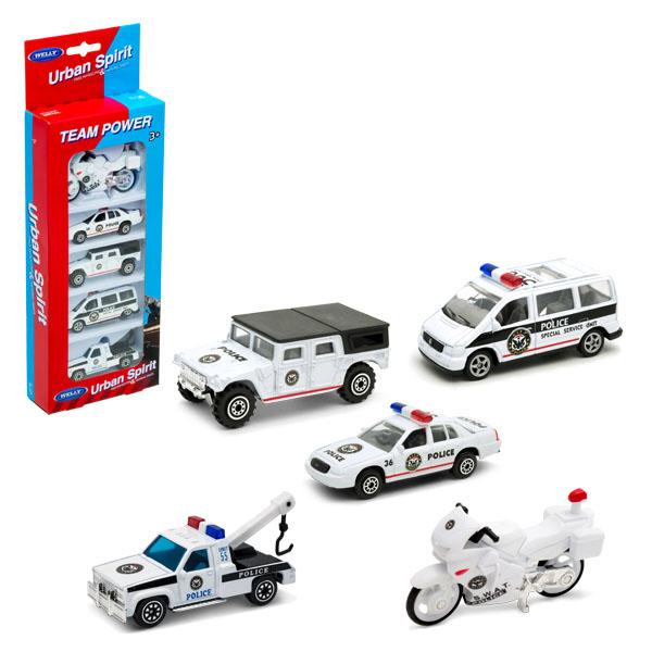 """Игровой набор """"Полицейская команда"""", 5 шт."""