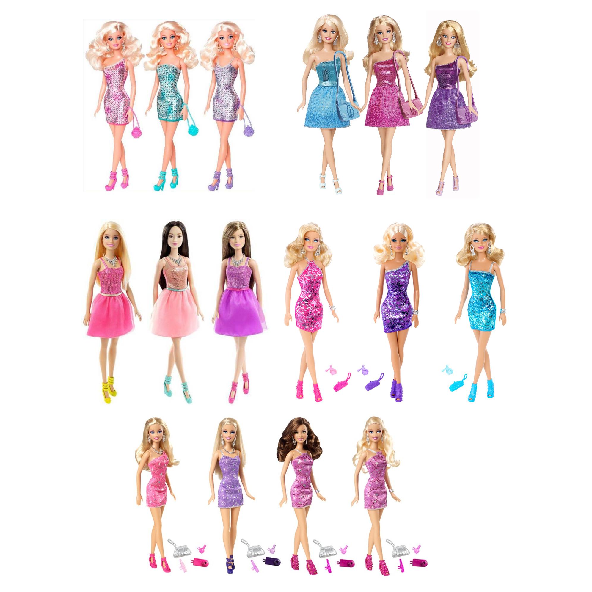"""Кукла Барби """"Сияние моды"""""""