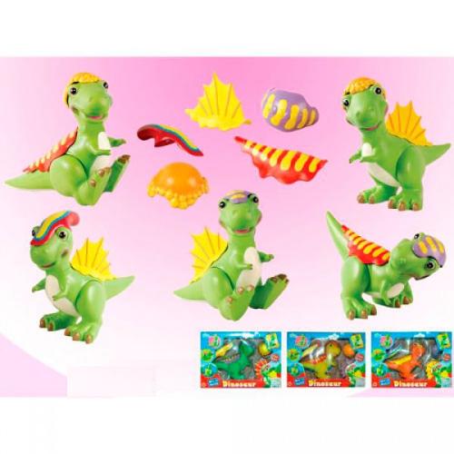 Динозаврик Mix 'n Match, 6 элементов