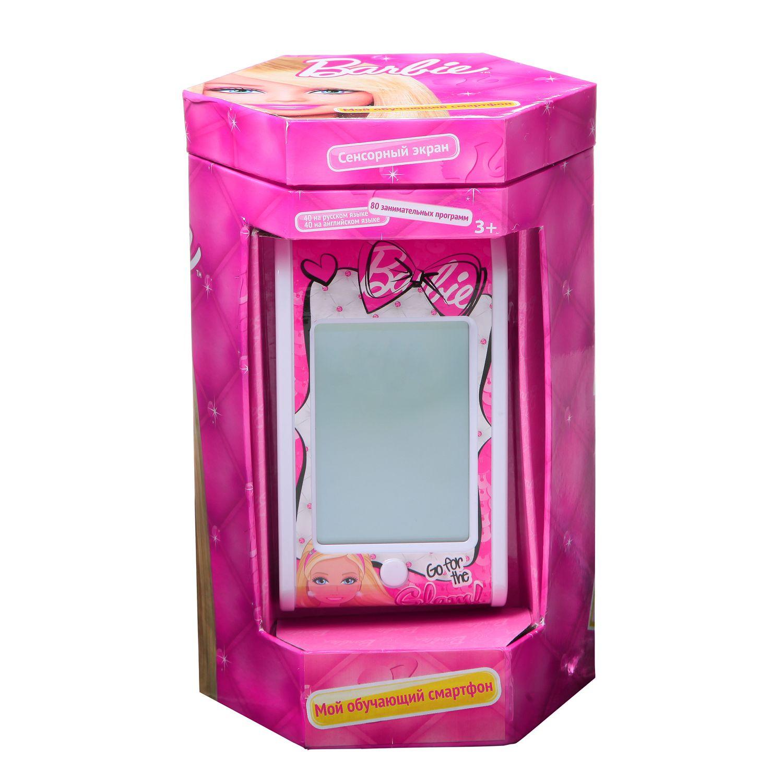 Обучающий смартфон Barbie (рус.-англ., 80 функций)