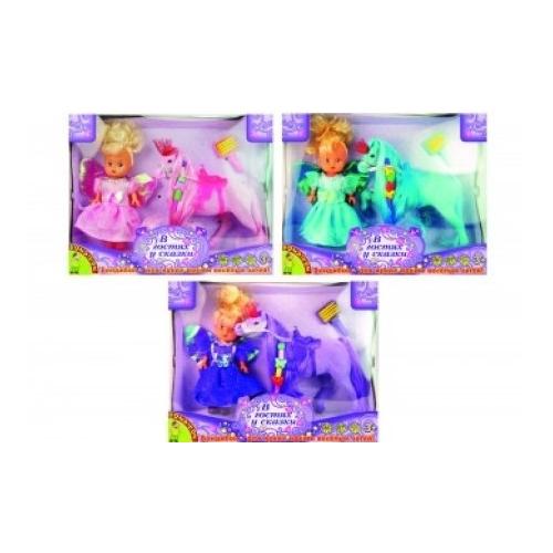 """Игровой набор """"Пони с принцессой"""""""