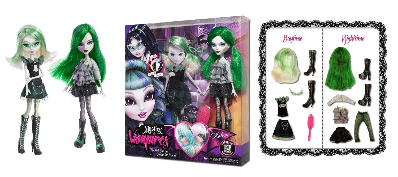 Кукла мистикс зомби калани