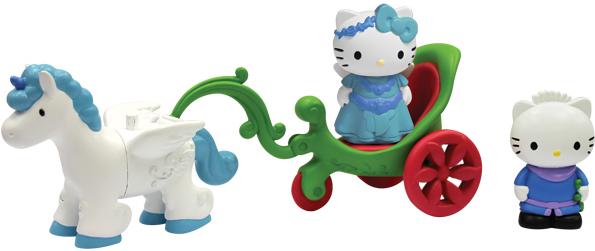 Набор Hello Kitty - Единорог с тележкой