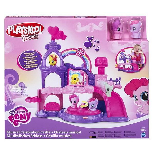 Музыкальный замок пони My Little Pony (свет, звук)