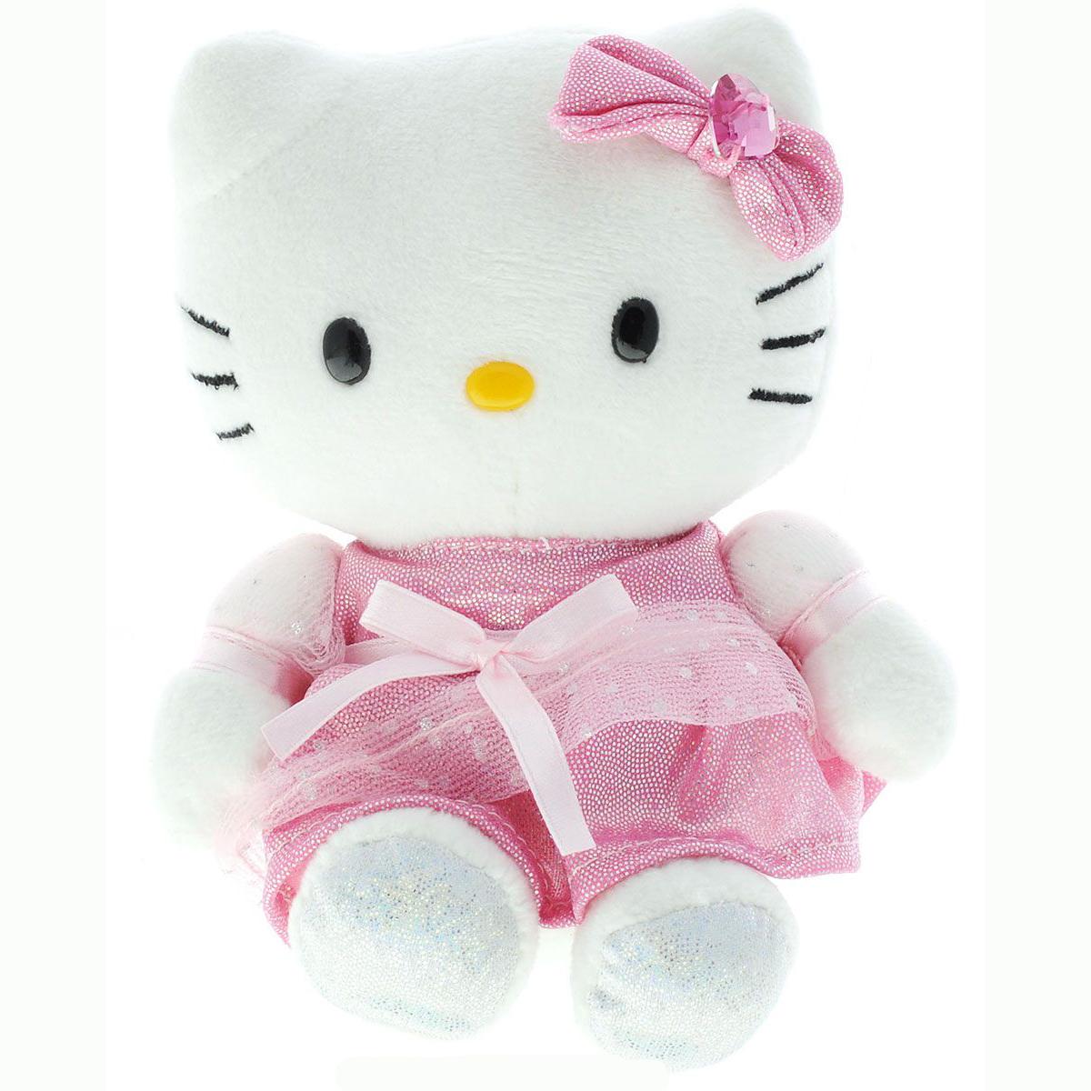Мягкая игрушка Hello Kitty (звук), 15 см