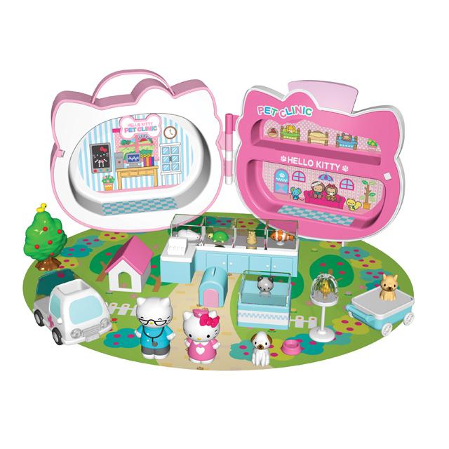 """Игровой набор Hello Kitty """"Клиника для домашних животных"""""""