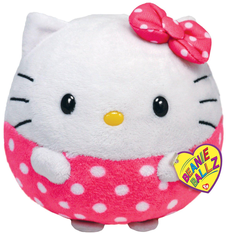Мягкая игрушка Benie Ballz - Hello Kitty, 12 см