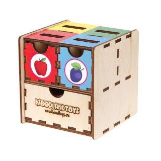 Комодик-куб Фрукты