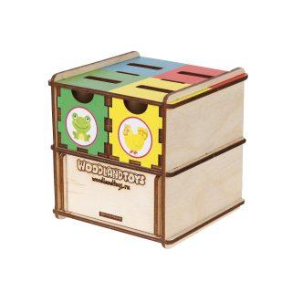 Комодик-куб Животные