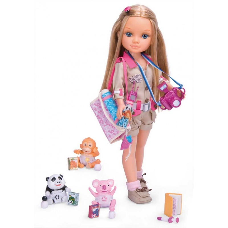 """Кукла Нэнси """"Защитница животных"""""""