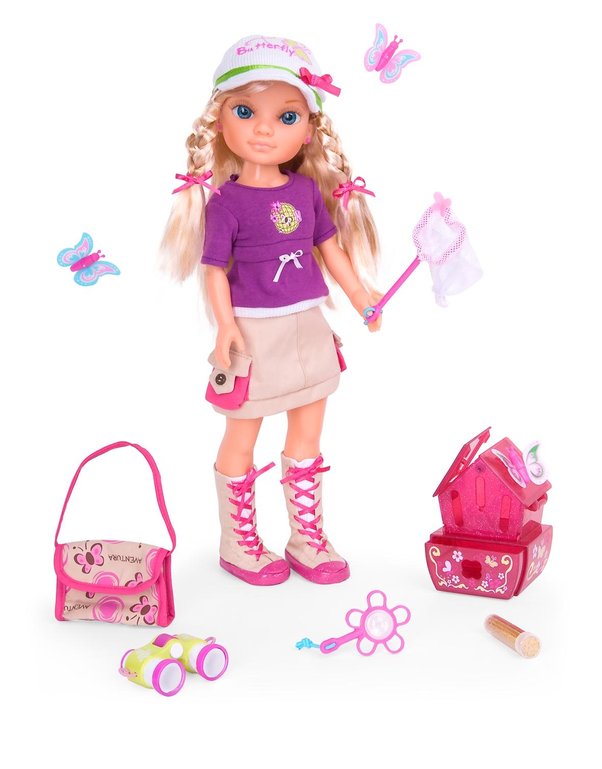 """Кукла Нэнси """"Ловец бабочек"""""""