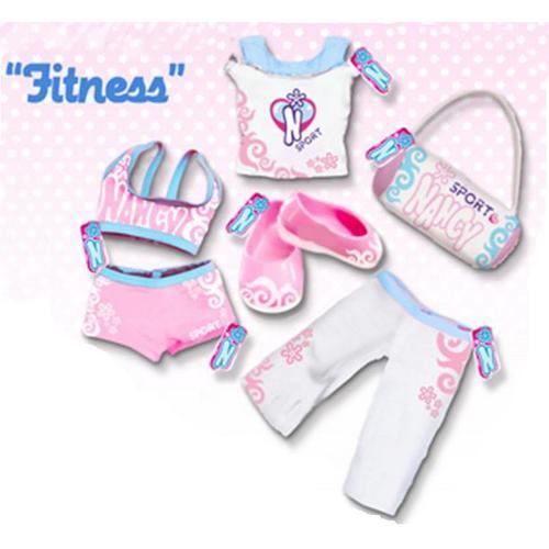 Комплект одежды для куклы Нэнси - Фитнес