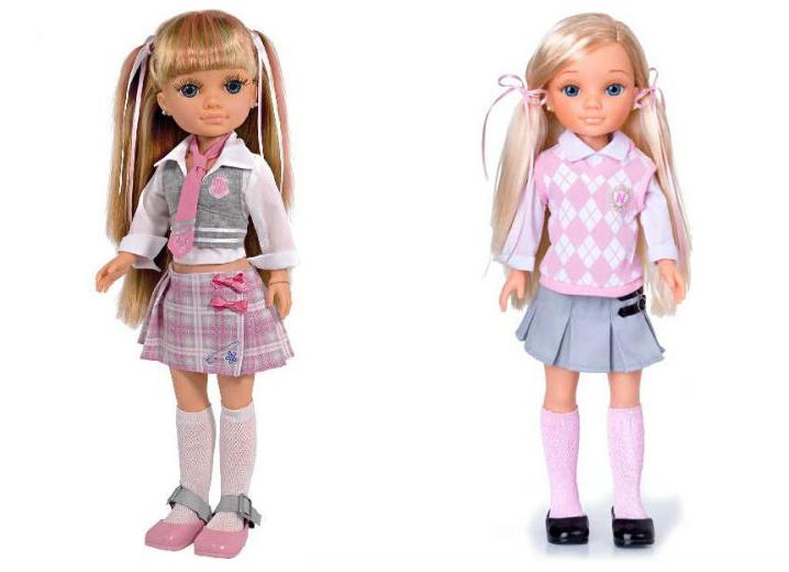 """Кукла Нэнси """"Школьница"""""""