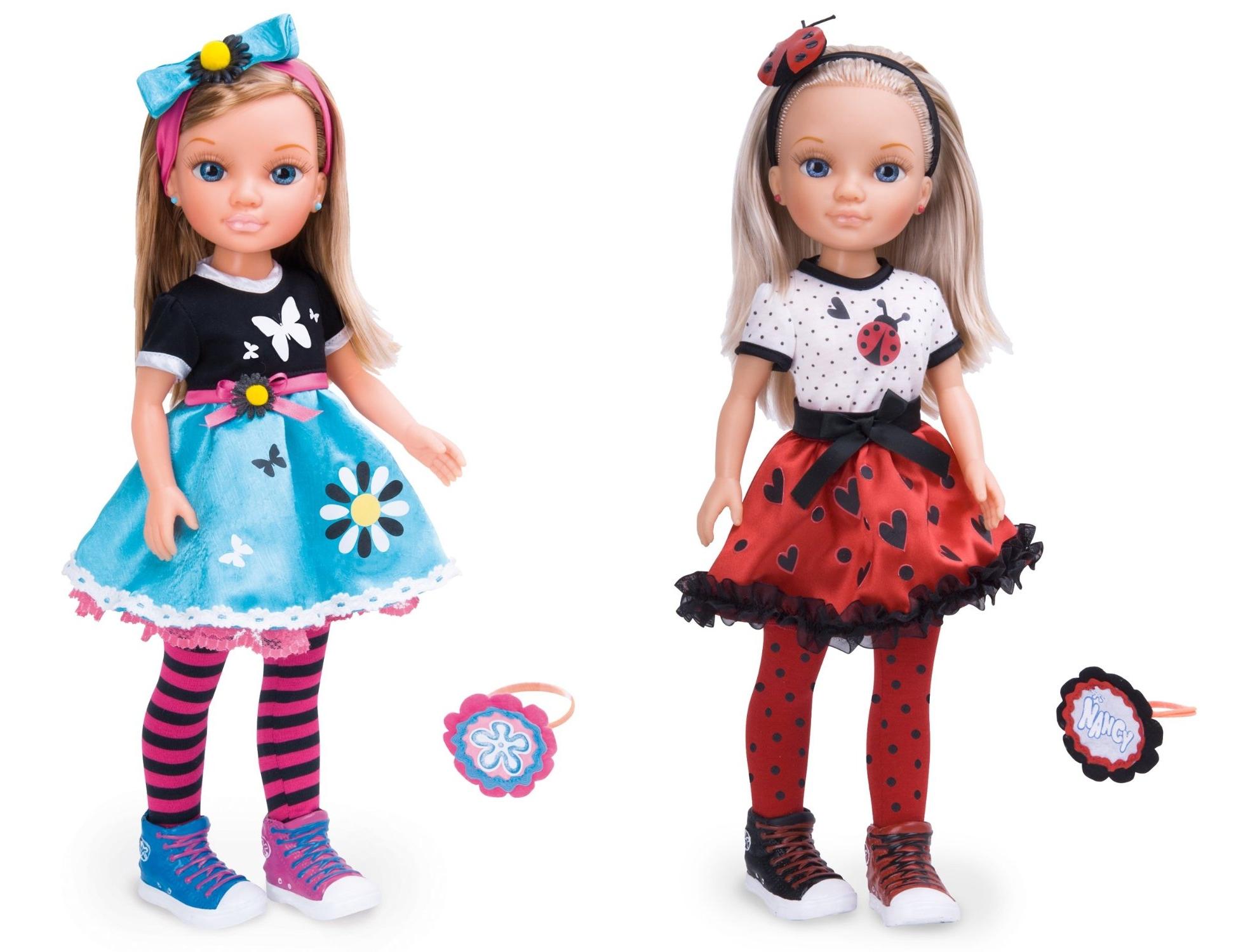 Кукла Нэнси в романтическом наряде