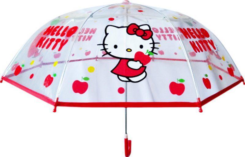 Прозрачный зонт Hello Kitty, 73 см