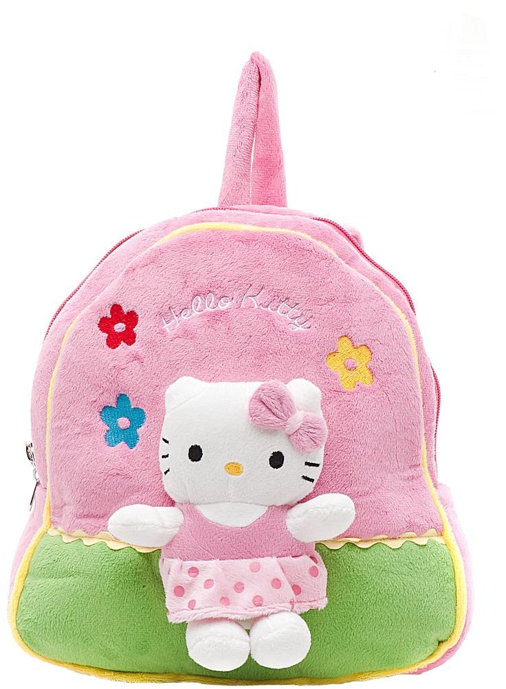 "Мягкий рюкзак ""Hello kitty"" с мягкой игрушкой"