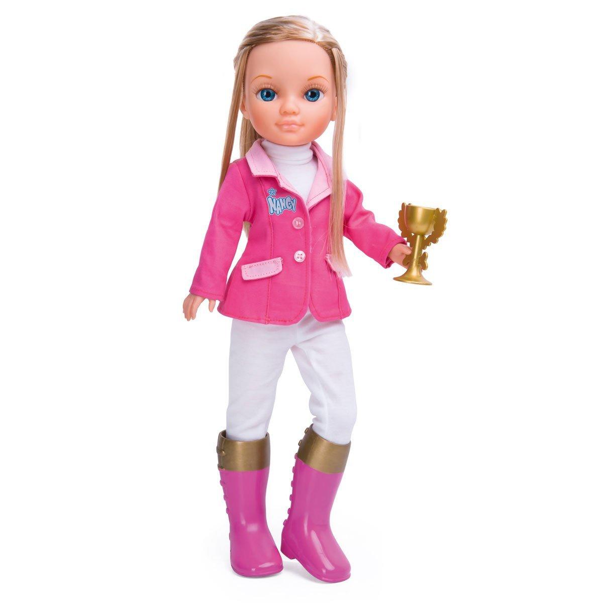 Кукла Ненси - спортсменка в розовом - Наездница