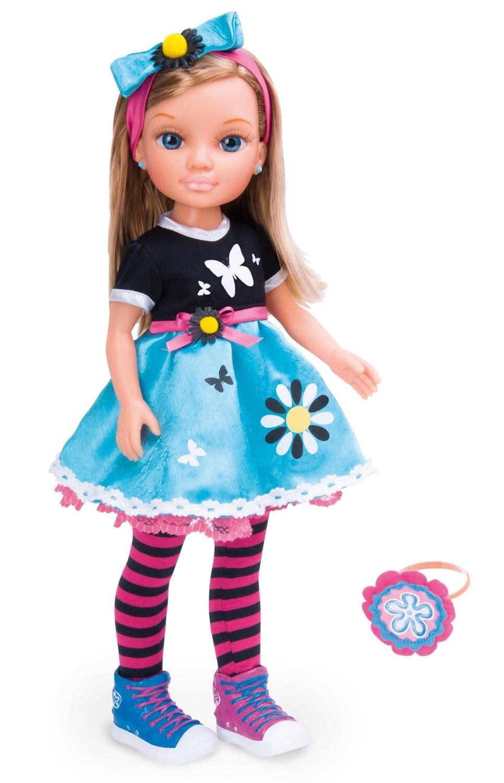 Кукла Нэнси в сине-черном романтическом наряде