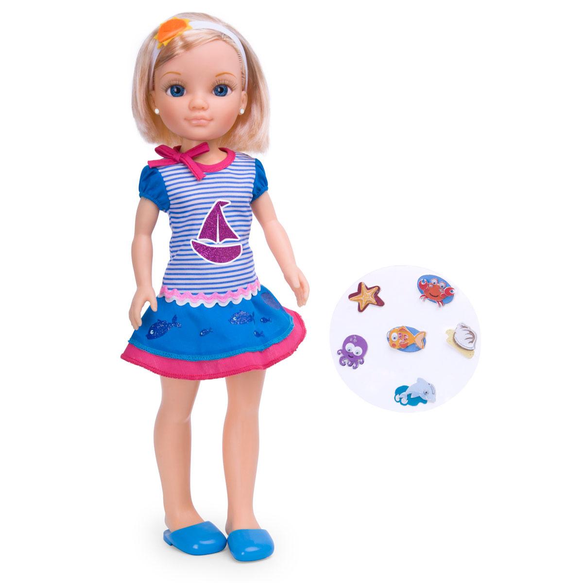 Кукла Нэнси со звездным обручем и модными наклейками