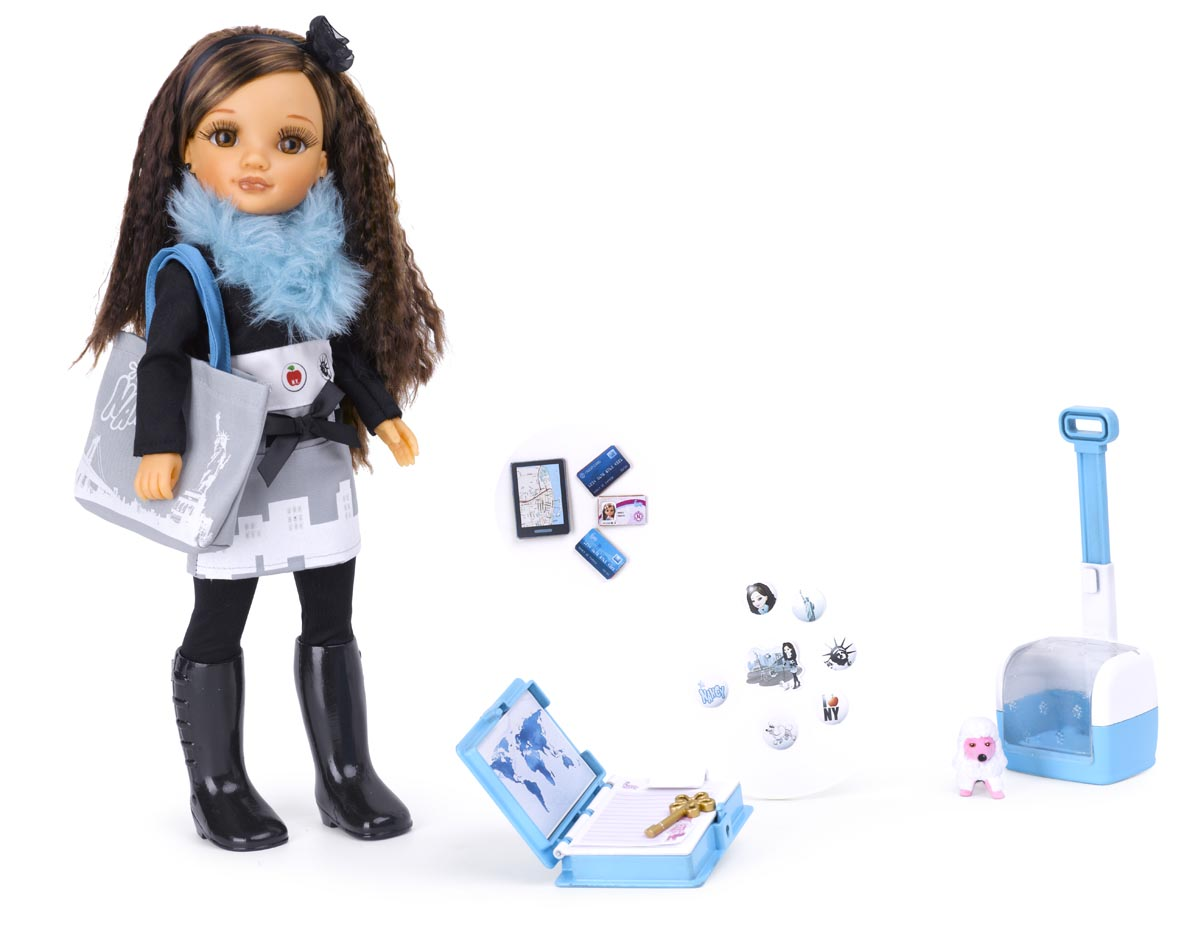 "Кукла Нэнси ""Путешественница"" - Нью-Йорк"