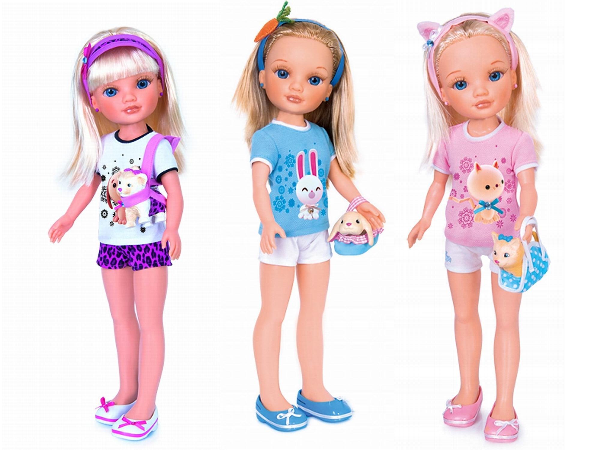 Кукла Нэнси и ее маленький питомец