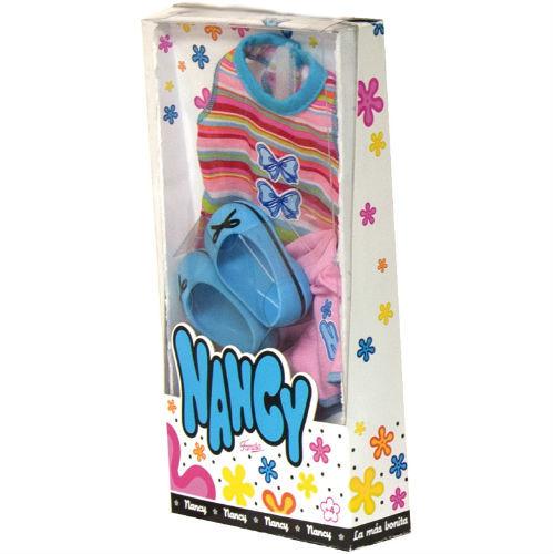 """Комплект одежды """"Нэнси"""" - Футболка, шорты и голубые туфли"""