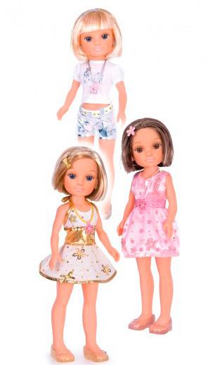 Кукла Нэнси с короткой стрижкой, с украшениями