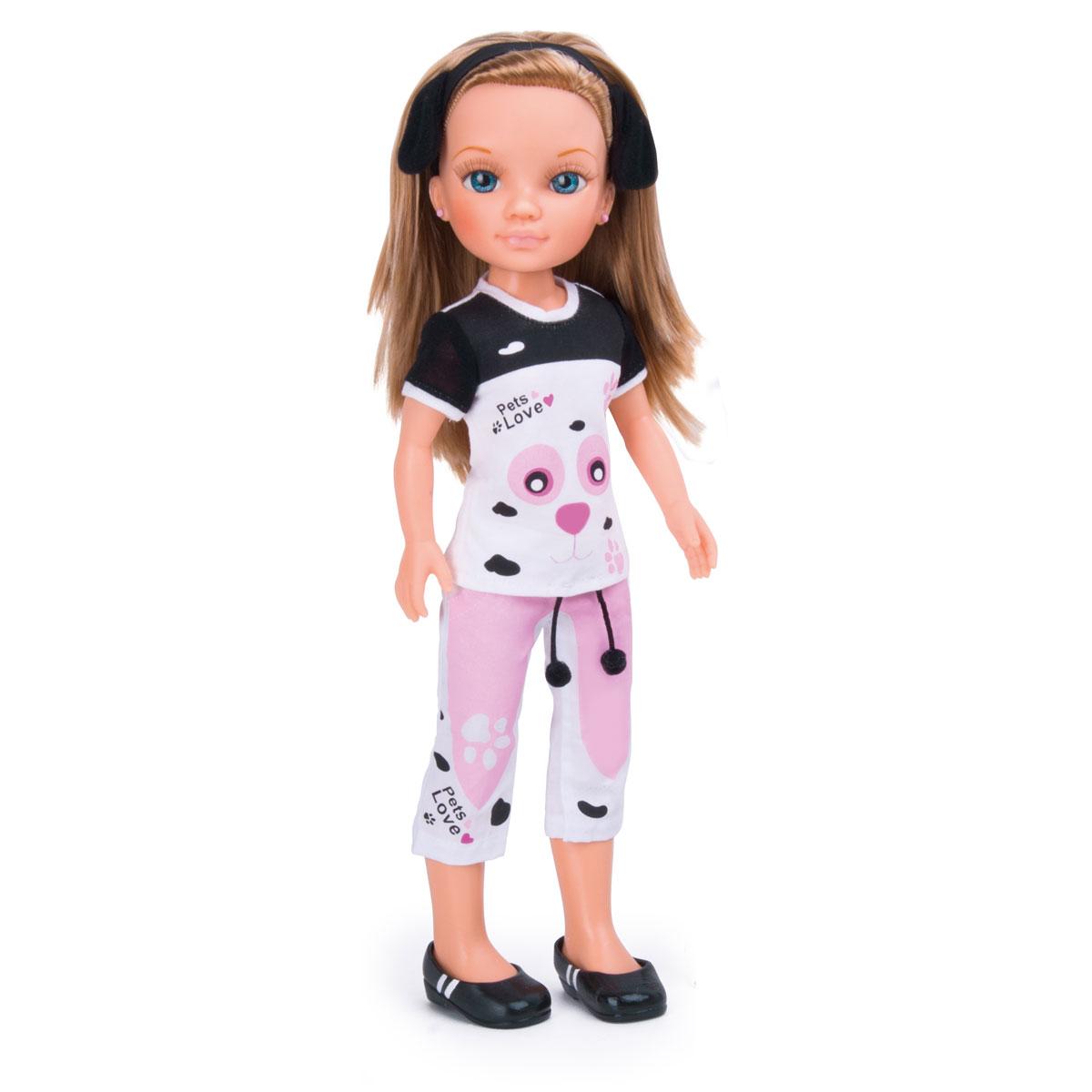 """Кукла """"Нэнси и милые питомцы"""", с далматинцами, 43 см"""