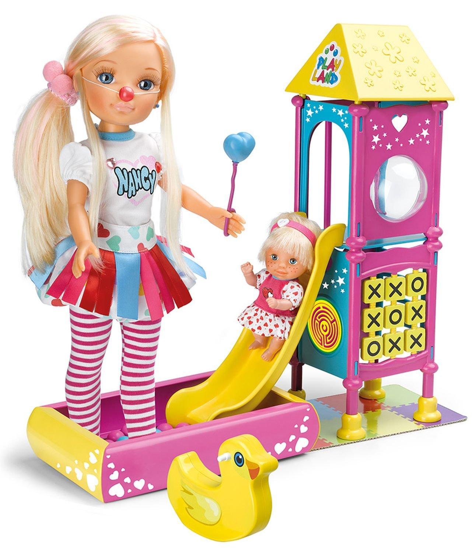 """Набор """"Игровая площадка"""" с куклой Нэнси и пупсом"""