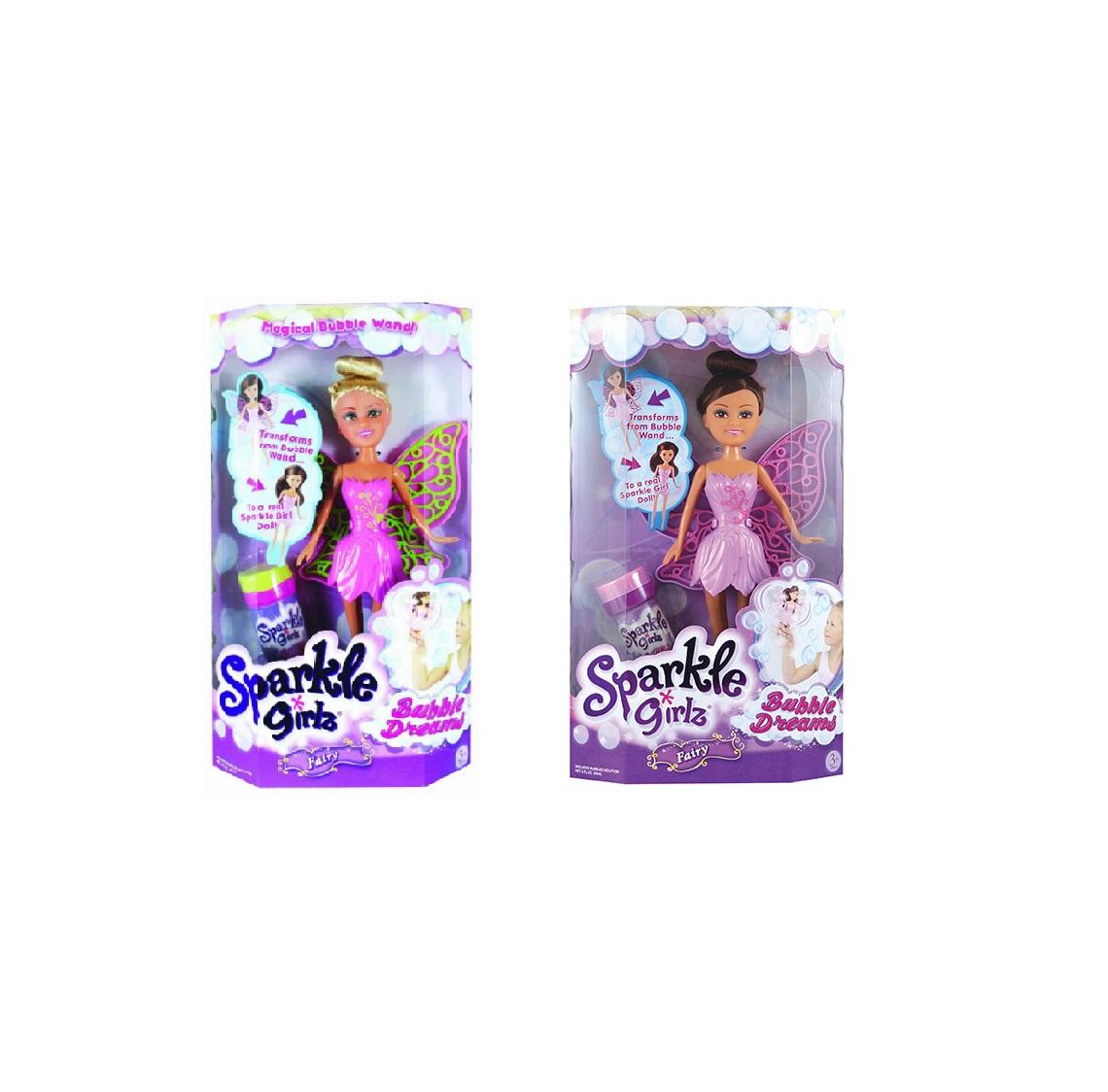Кукла Sparkle Girlz - Фея с мыльными пузырями, 28 см