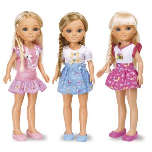 """Кукла Нэнси """"Плетение косичек"""", 43 см"""