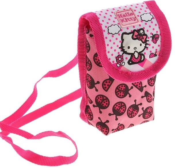 Кошелек на шею Hello Kitty
