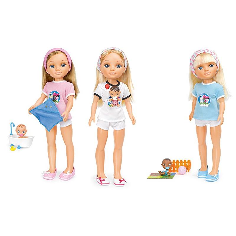 """Набор игровой """"Кукла Нэнси и любимый малыш"""", 43 см"""