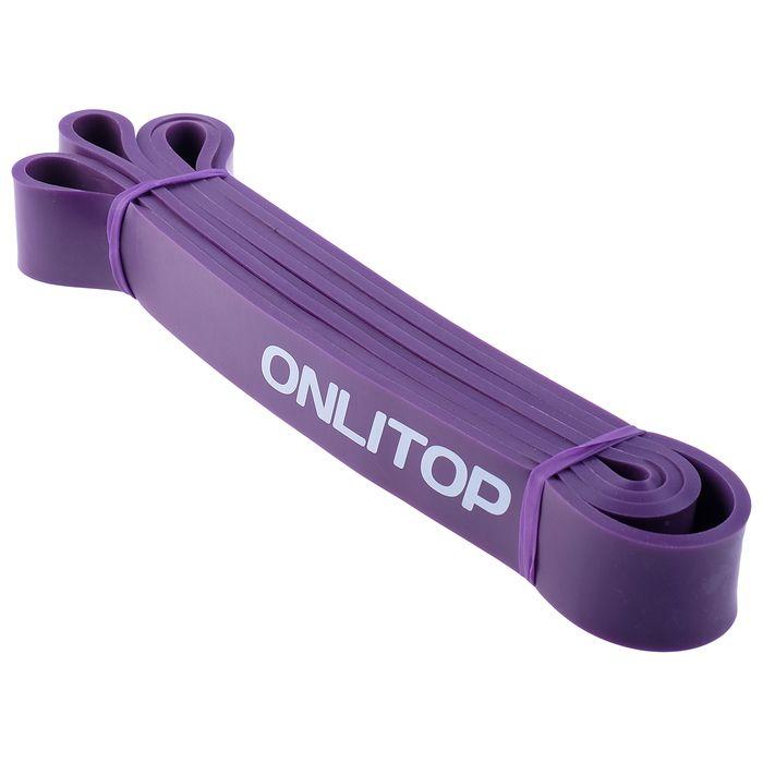 Эспандер многофункц, ленточный 15-40 кг, 208х3,2х0,5 см, цвет фиолетовый