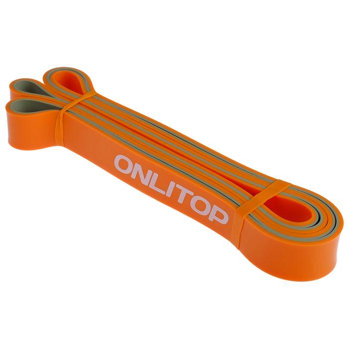 Эспандер многофункц, ленточный 11-36 кг, 208х2,9х0,45 см, цвет оранжево-серый