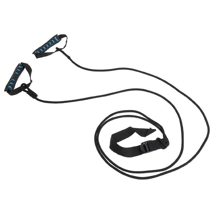 Эспандер лыжника, боксёра, пловца, удлиненный с жёсткими ручками 26-07