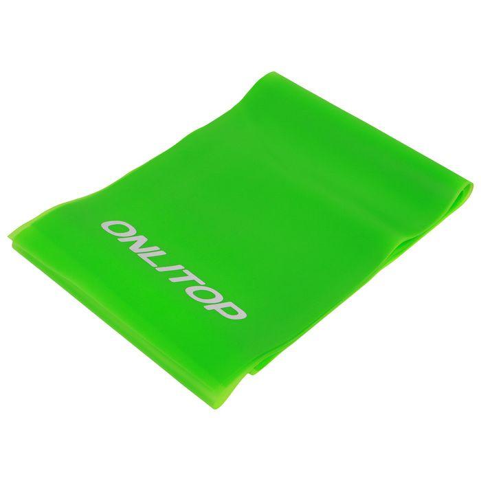Эспандер ленточный для фитнеса, 150 × 15 × 0,03 см, цвета