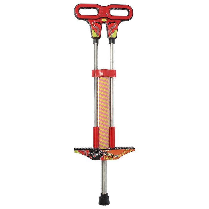 Кузнечик стальной FLICKER ОТ-01 (вес до 25 кг), цвет красный в пакете