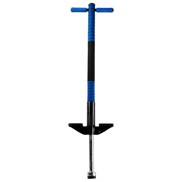 Кузнечик стальной синий для прыжков, вес до 40 кг.