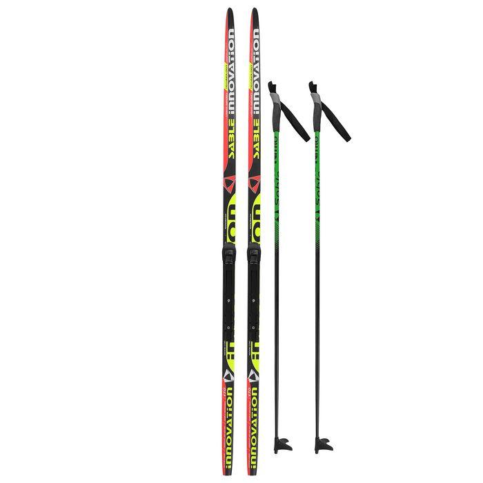 Комплект лыжный БРЕНД ЦСТ 170/130 (+/-5 см), крепление NNN, цвет