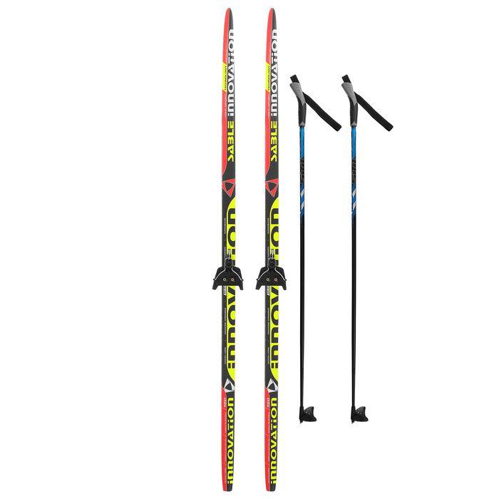 Комплект лыжный БРЕНД ЦСТ 160/120 (+/-5 см), крепление 0075 мм, цвет