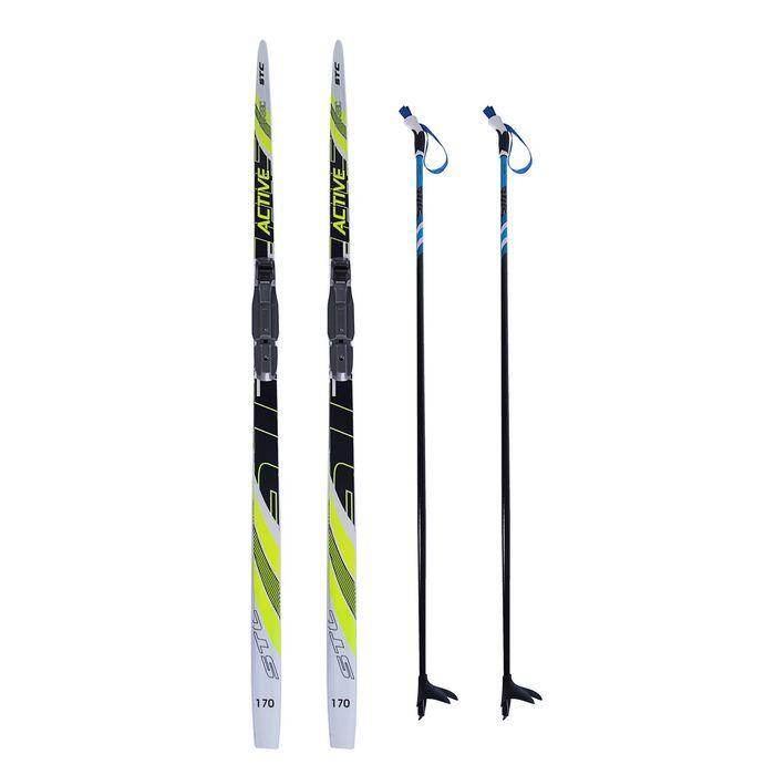 Комплект лыжный БРЕНД ЦСТ, 170/130 (+/-5 см), крепление SNS