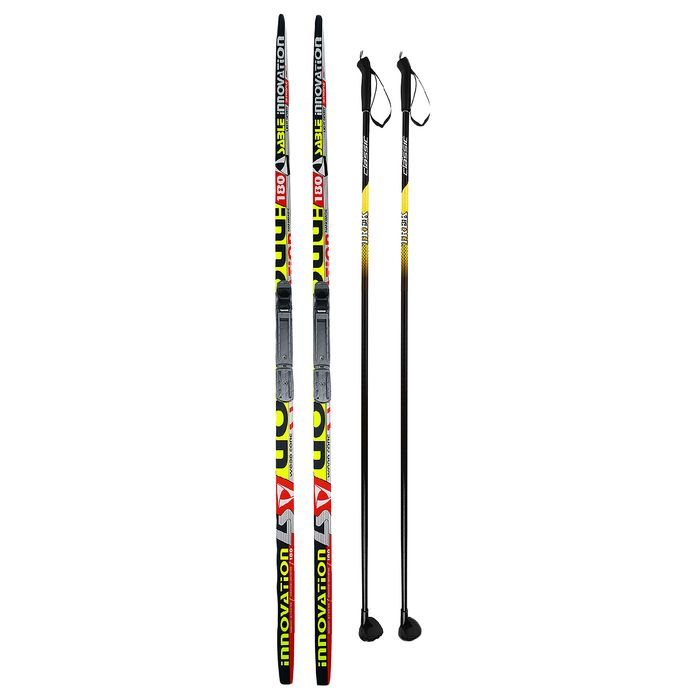 Комплект лыжный Бренды ЦСТ 180/140 (+/-5 см), крепление NNN, цвет