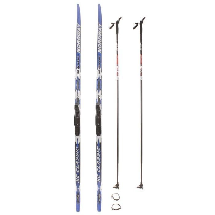 Комплект лыжный БРЕНД ЦСТ, Step, 195/155 (+/-5 см), крепление SNS