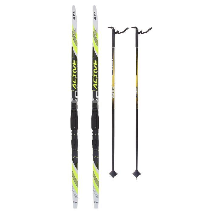 Комплект лыжный БРЕНД ЦСТ (150/110 (+/-5 см), крепление: SNS)
